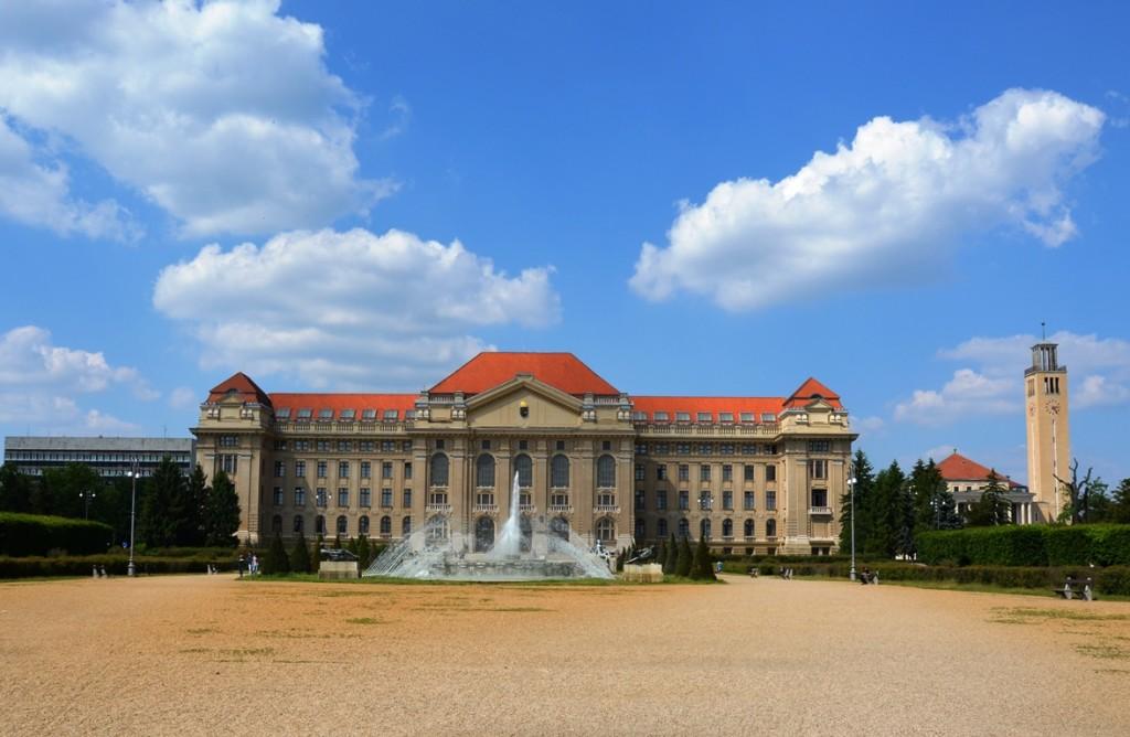 de stad Debrecen in Hongarije
