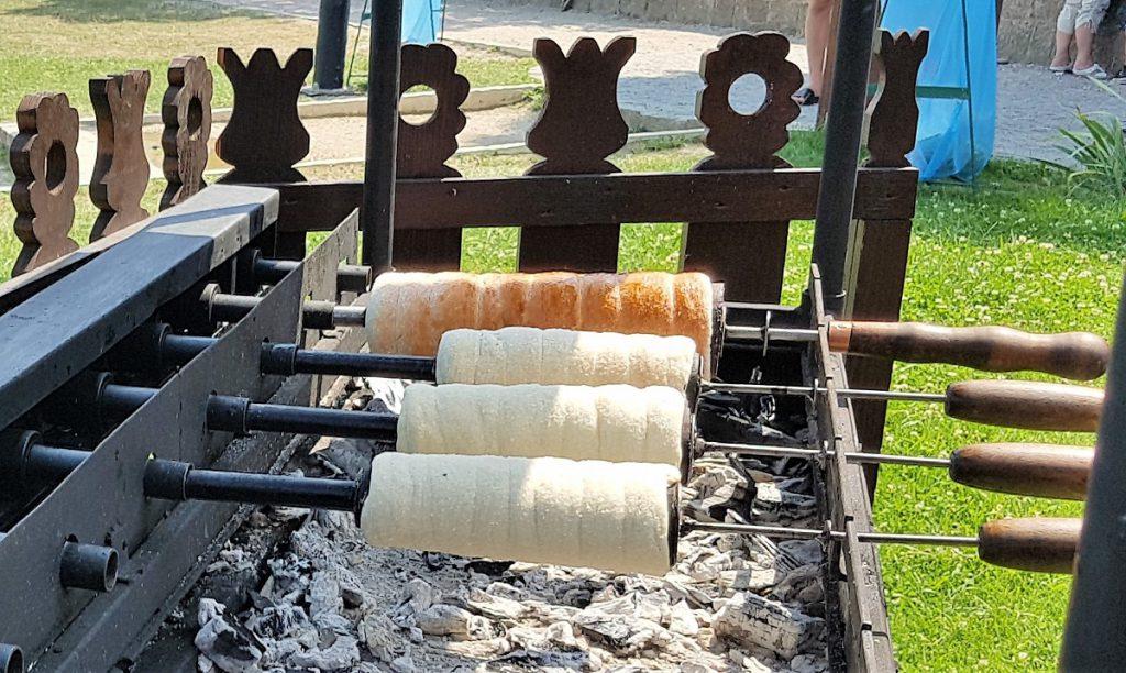 schoorsteencake in hongarije